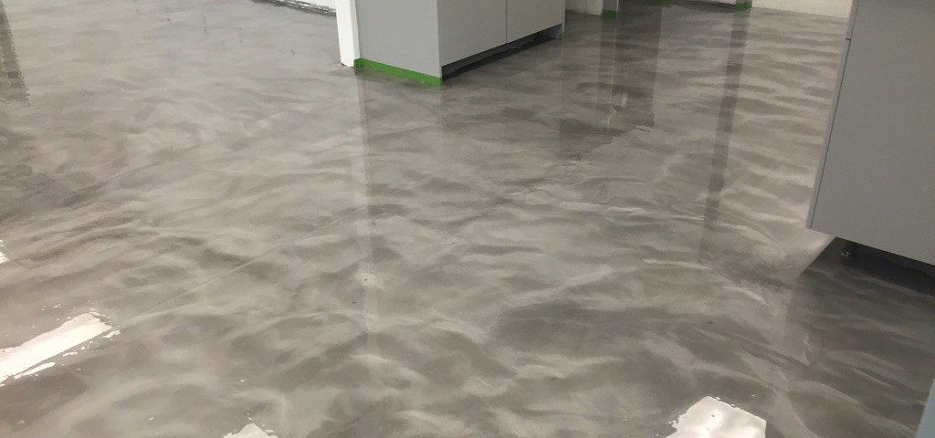 School District 90 Dolphin And 10 Pearl Metallic Epoxy